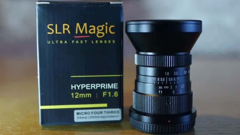 SLR Magic m4/3 HyperPrime 12mm f1.6 lens