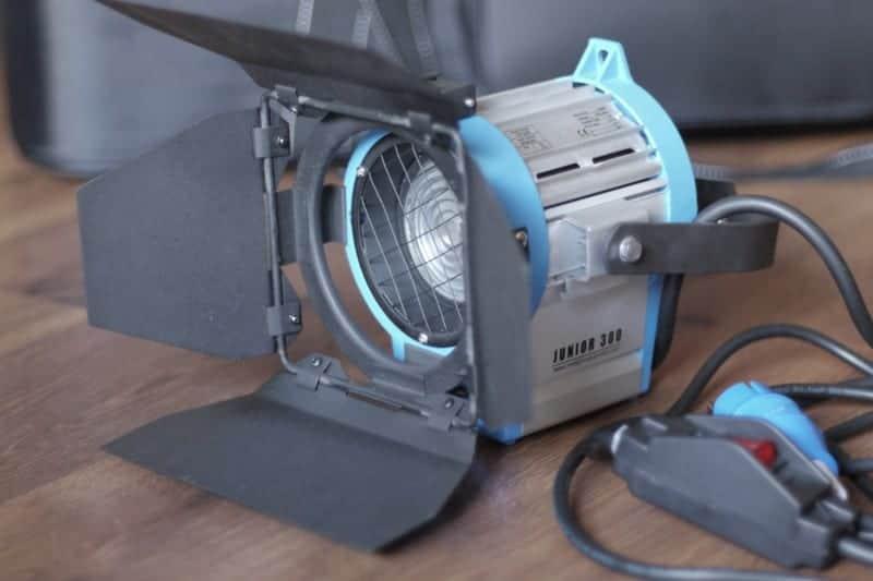Cinelight Tungsten Fresnel lighting kit