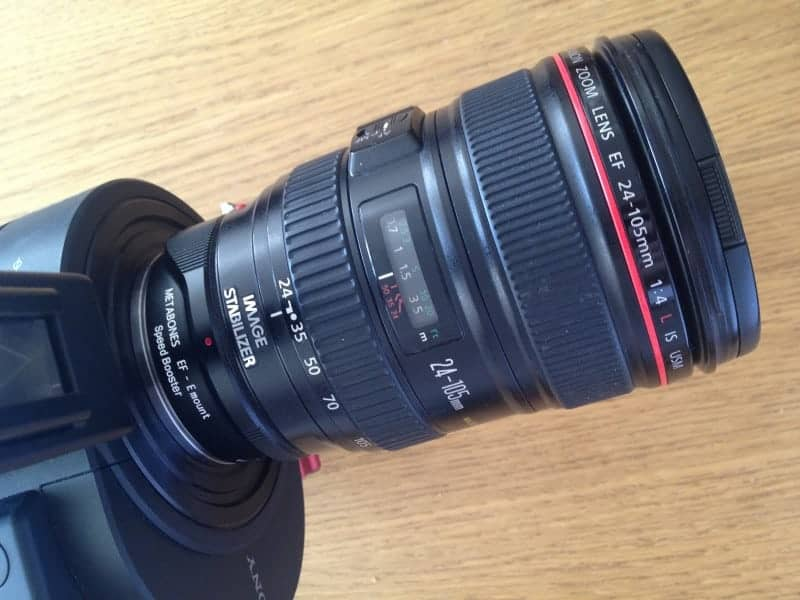 Metabones Speed Booster EF to E-Mount review